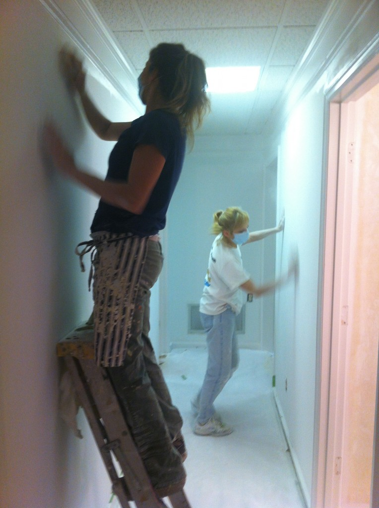 Wanda Works with Paint drywall repair Lawrenceville Georgia