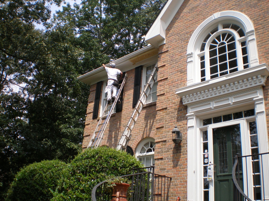 Wanda Works with Paint Exterior Paint Lawrenceville Georgia